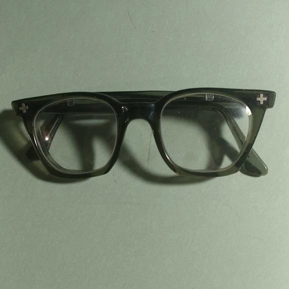 b45430f106 Aden Other - Vintage Aden Safety Glasses Horned Rim